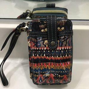 Western Aztec Cellphone Wallet
